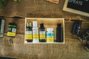 CBD oil and CBD spray